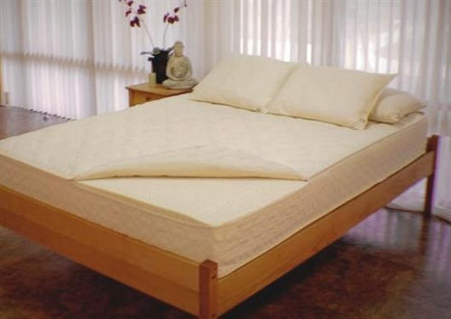 "9"" Full Leo Natural Latex Zip Customizable Mattress"