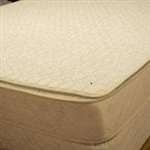"42"" Organic Round Crib Cotton Mattress Protector Pad"