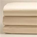"Natural Sateen Organic 42"" Round Sheet"