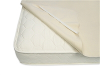 Twin Waterproof Mattress Protector Pad by Naturepedic