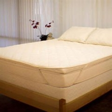 "3"" Organic Quilted Latex Mattress Topper"